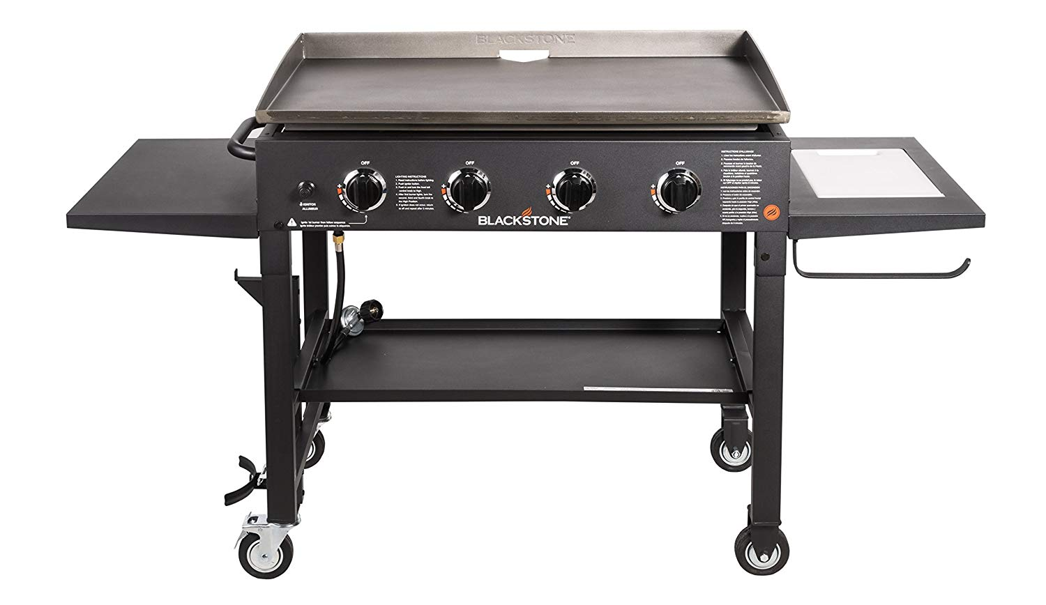 "blackstone 1825 36"" outdoor flat top gas grill griddle"