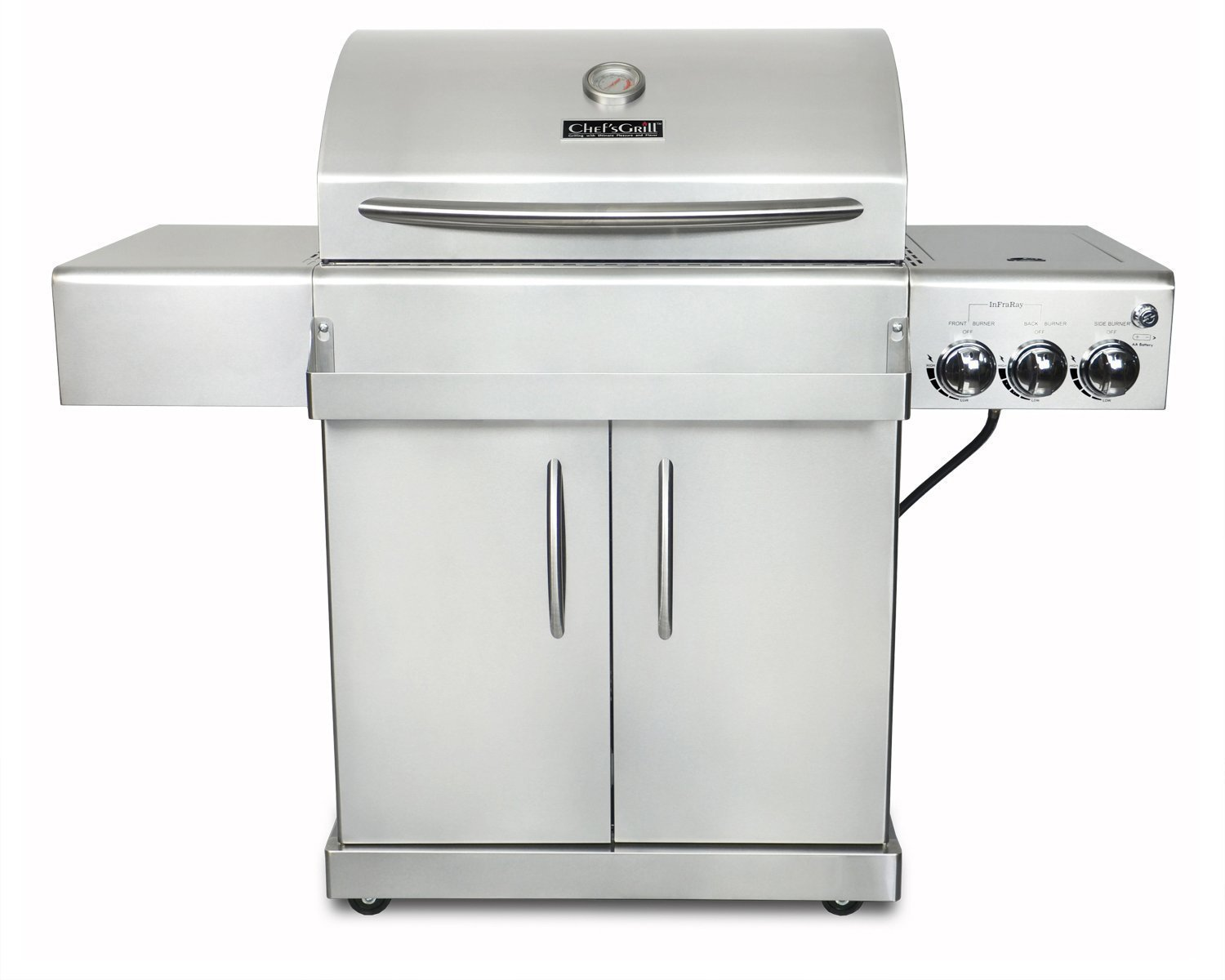 Chef's Grill IR2818-1 61500 BTU Infrared Gas Grill Review