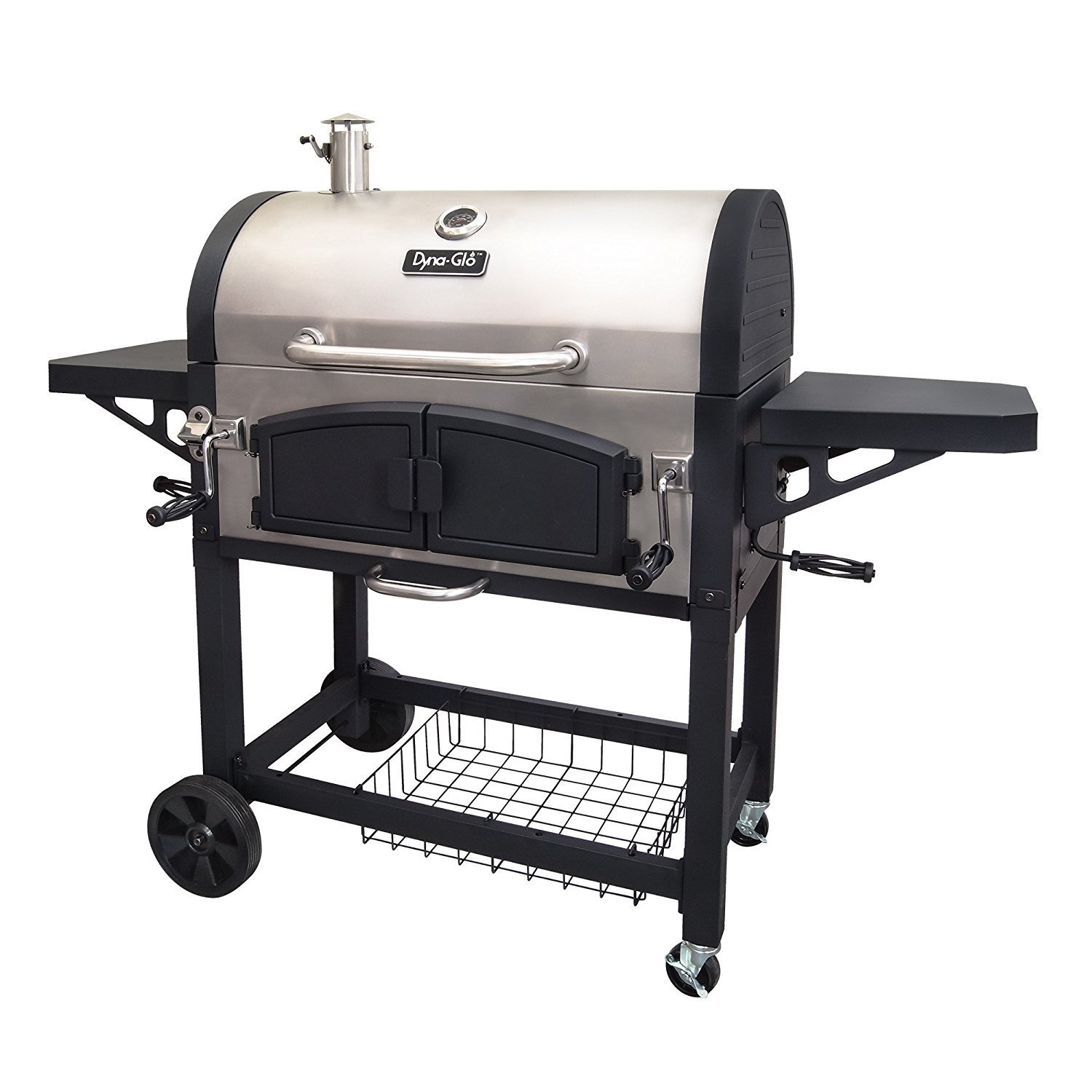 Dyna-Glo DGN576SNC-D Dual Zone Premium Charcoal Grill Review