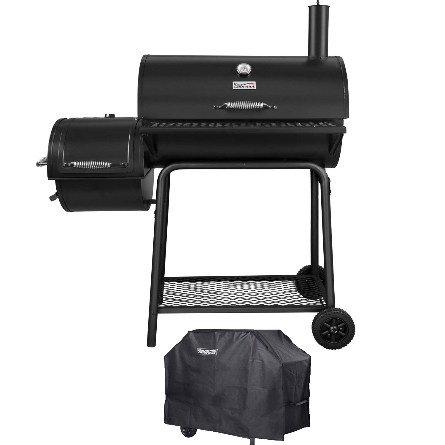Royal Gourmet CC1830F-C Charcoal Grill Offset Smoker Review