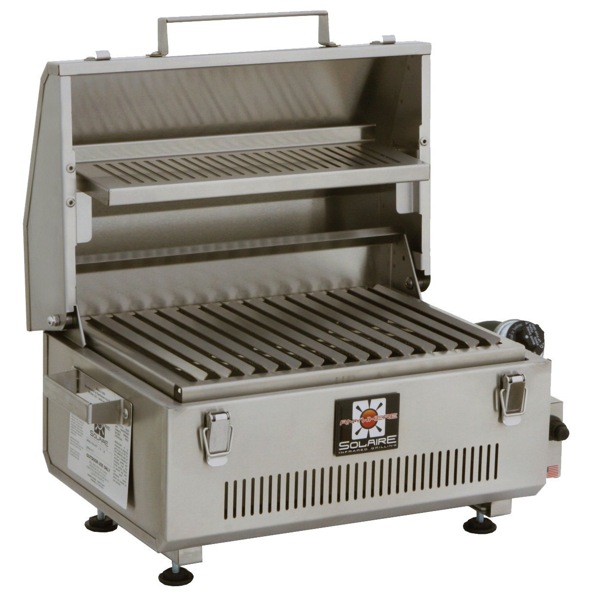 Solaire SOL-IR17BWR Portable Infrared Propane Gas Grill Review