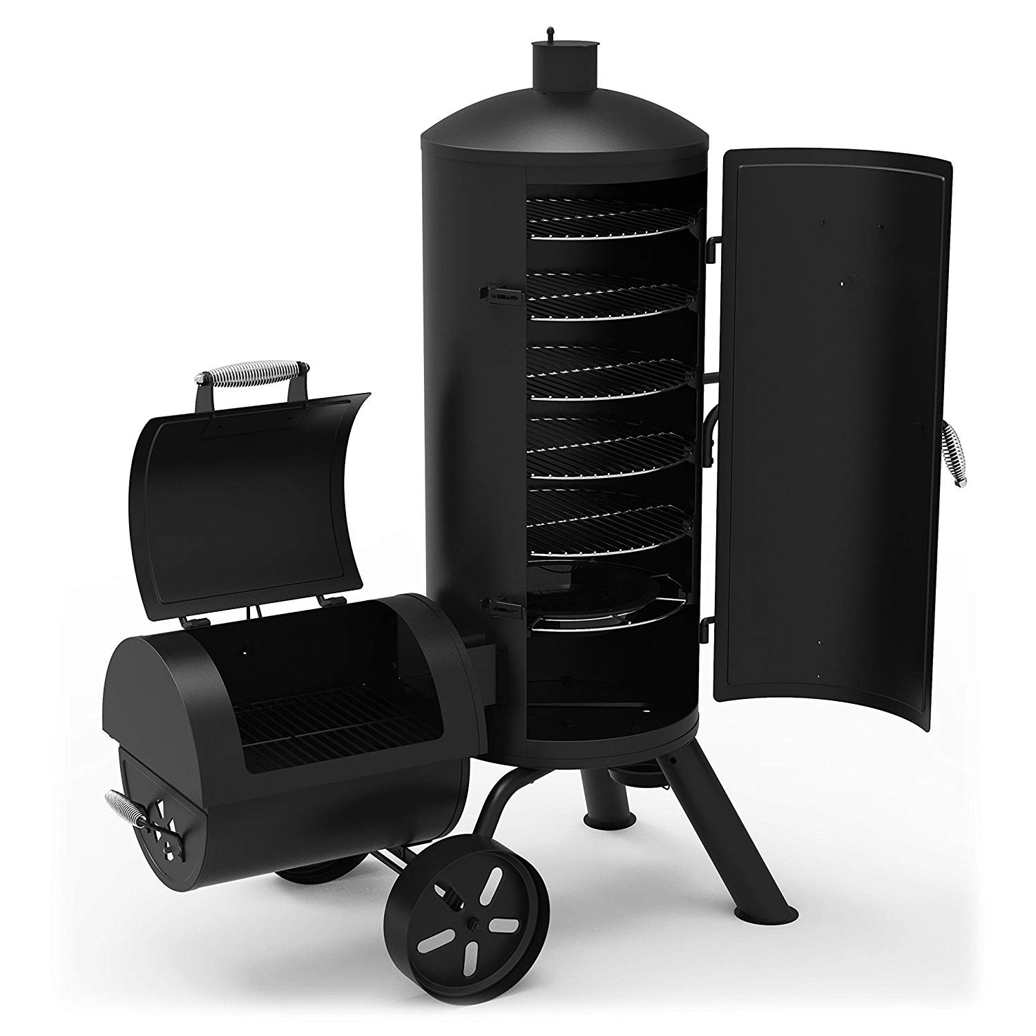 Dyna-Glo Signature Series DGSS1382VCS-D Heavy-Duty Vertical Offset Charcoal Smoker Review