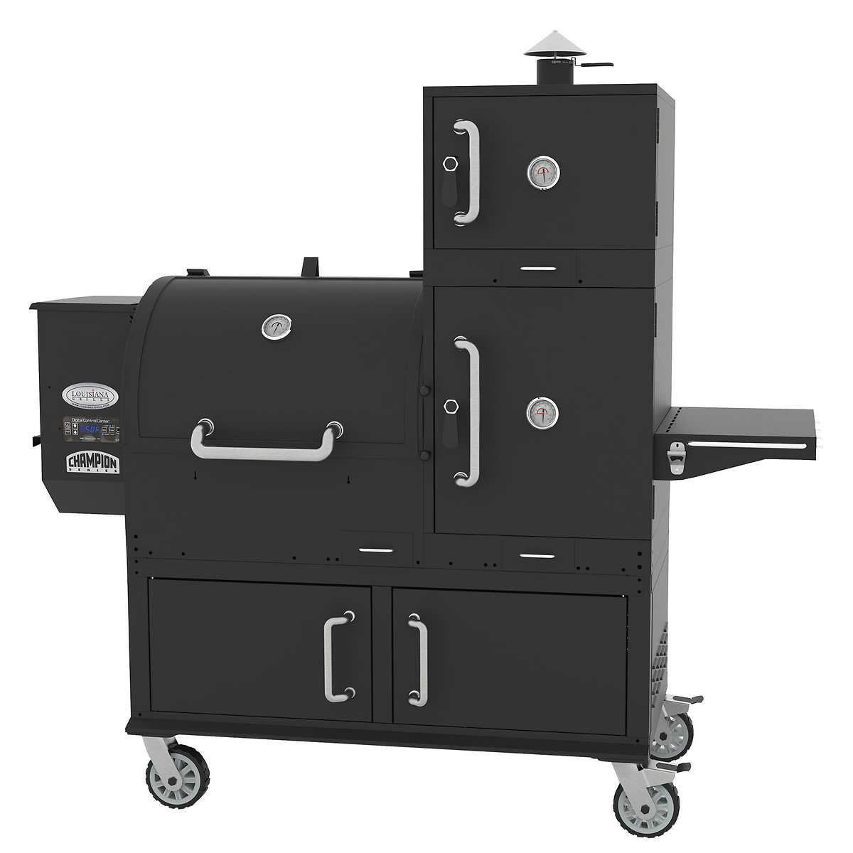 Louisiana Grills Champion Wood Pellet Smoker Grill Review
