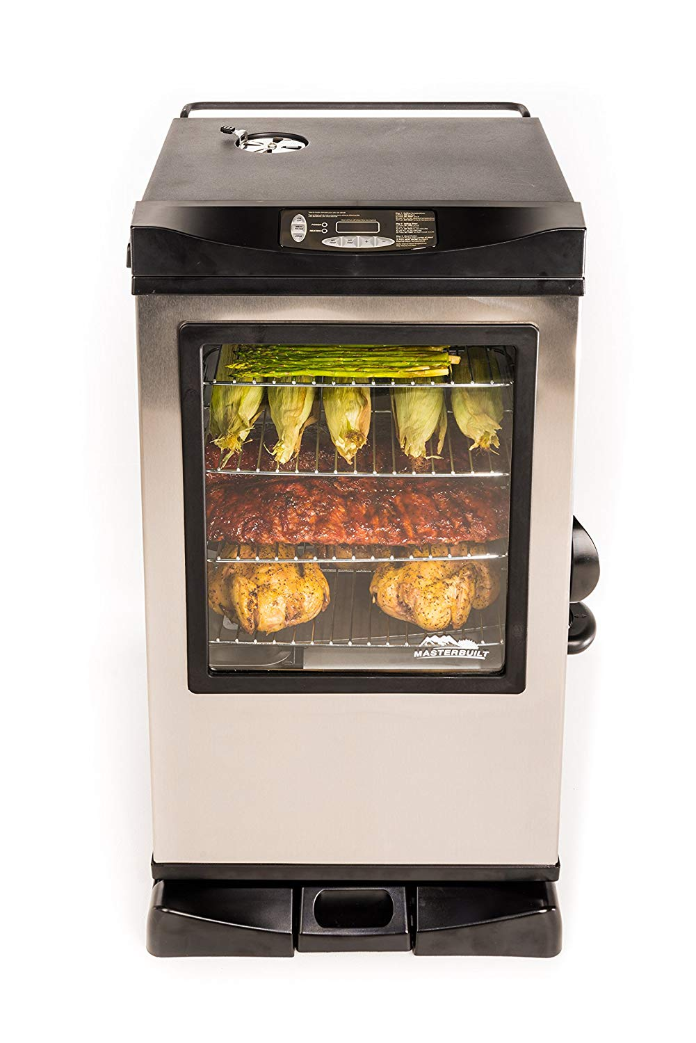 Masterbuilt 20077515 Front Controller 30″ Electric Smoker Review