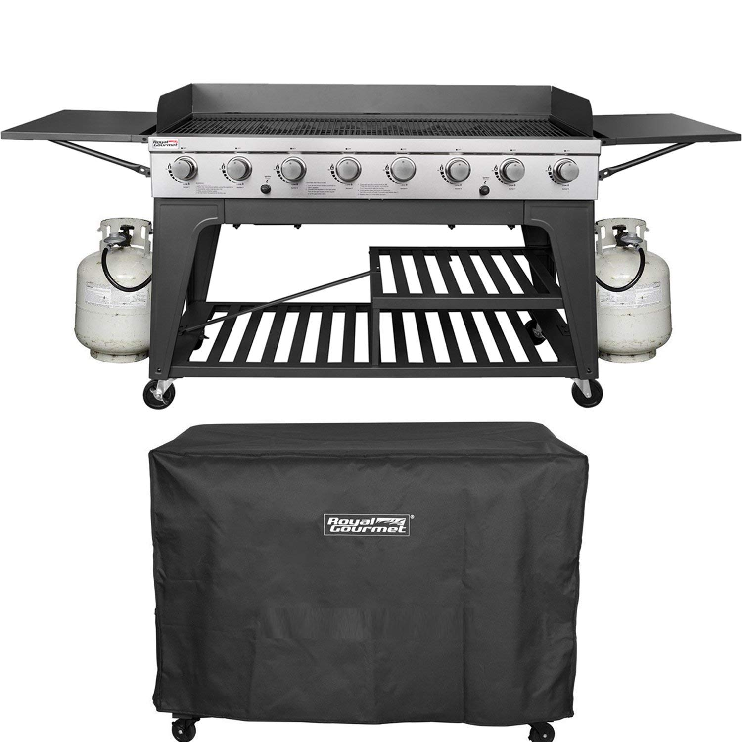 Royal Gourmet GB8000C Event 8-Burner BBQ Propane Gas Grill Review