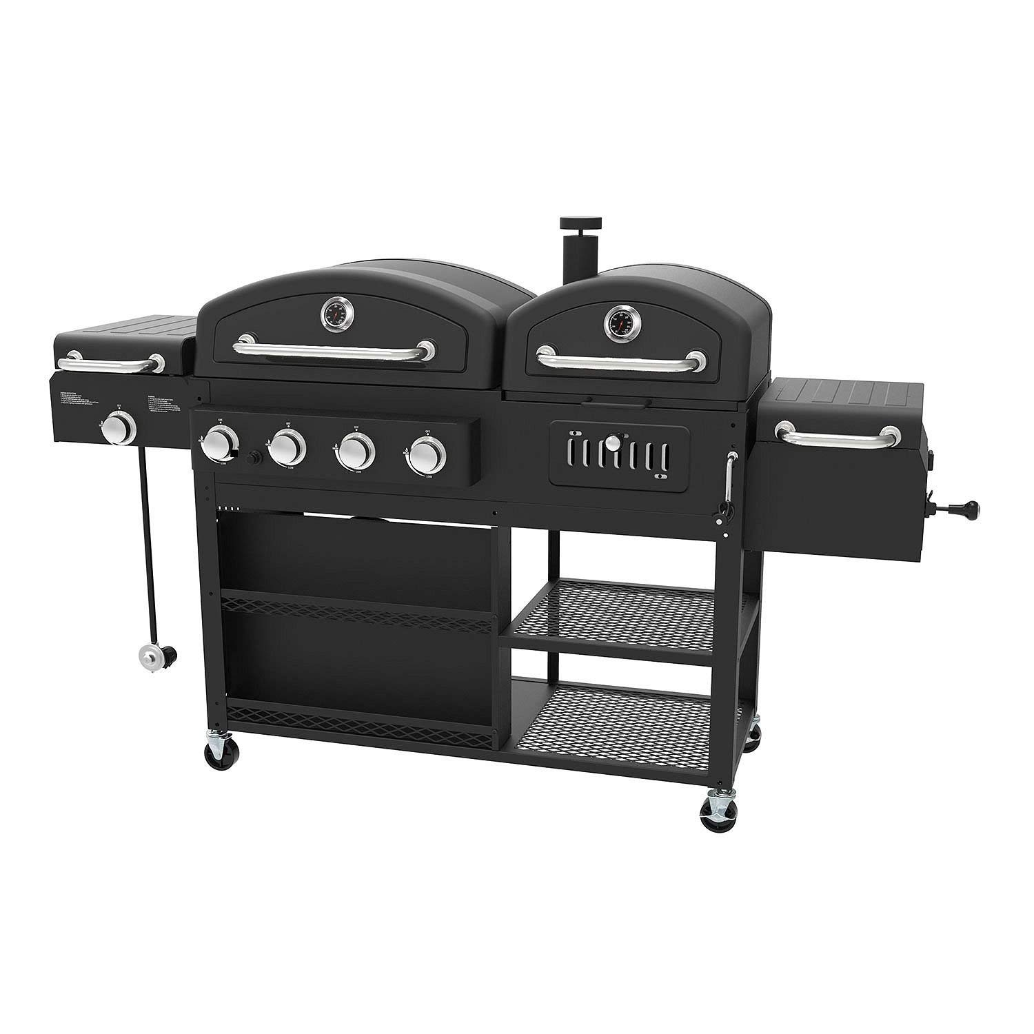 Smoke Hollow Ps9900 4 In 1 Lp Gas Charcoal Grill And Smoker Review