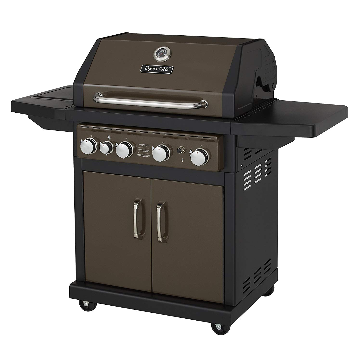Dyna-Glo Bronze DGA480BSP 4-Burner Propane Gas Grill Review