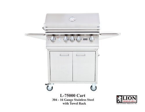 Lion L75000 32″ Stainless Steel Natural Gas Grill Review