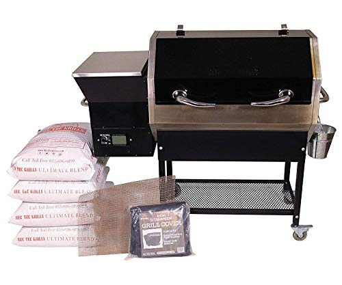 REC TEC Grills Stampede RT-590 Portable Wood Pellet Grill Review