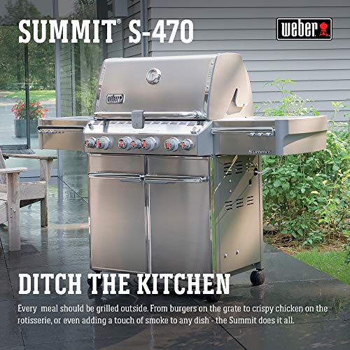Weber Summit S-470 LP 7170001 Propane Gas Grill Review