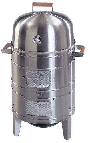 Americana Stainless Steel Charcoal Water Smoker Model 5025.2.911 Review