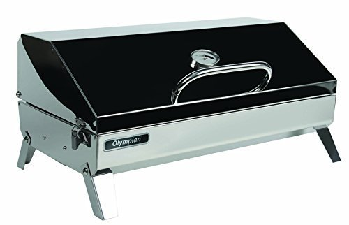 Camco Olympian 6500 Stainless Steel Portable & RV Gas Grill Review