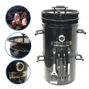 EasyGO EGP-FIRE-017 Big Bad Barrel Charcoal Barbeque 5 in 1 Smoker Grill Review