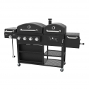 Smoke Hollow PS9900 4-in-1 LP Gas Charcoal Grill And Smoker Review