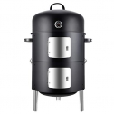 Realcook Vertical 20″ Steel Charcoal Smoker BBQ Grill Review